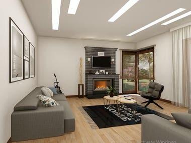 Beautiful and elegant Interior Design.
