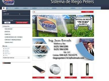 Sistema de Riego Peters
