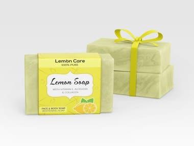 Soap Label & Packaging Design