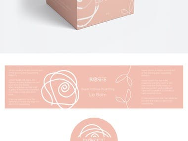 Cosmetic Box Packaging and Label Designs