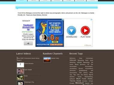 Web Design & Google adsence and seo