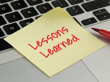 Reflection on Lessons learned from Self-Evaluation
