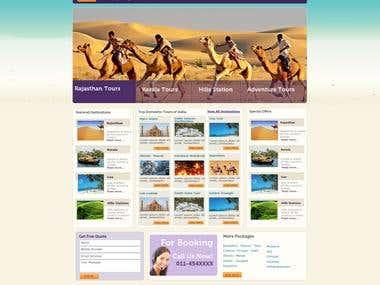Travel Company Layout
