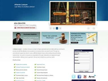 Atlanta Lawyer SEO + Web Design