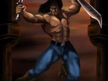 Warrior Illustration