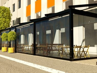 Project and design of New caffee