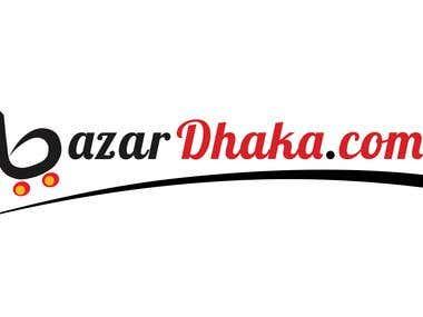 BazarDhaka.com Logo design