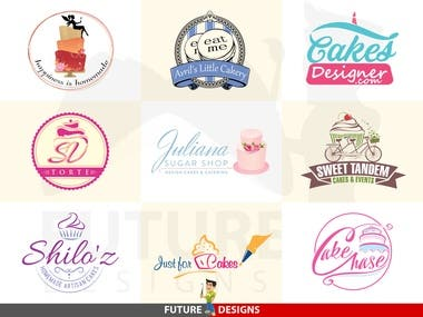 Logo Design - Cake & Confectionery