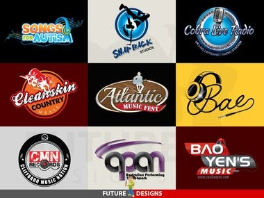 Logo Design - Music