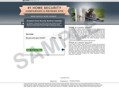 Website Design/PSD Mockup