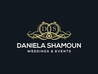 Logo Design Weddings & Events Daniela Shamoun