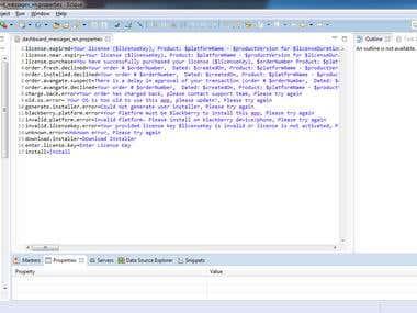 Java Backend of Data Intensive App