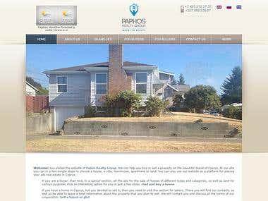 Paphos - Real estate site
