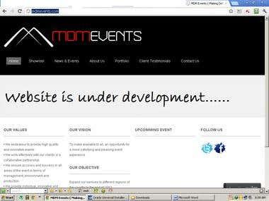 Event Org Wordpress