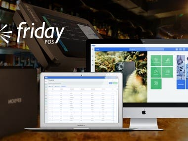 Friday - Fully Integrated POS System