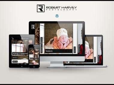 Responsive Wordpress Powered Website (Photography)