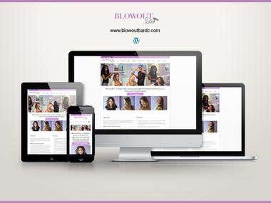 Responsive Wordpress Powered Website (Spa/Salon)