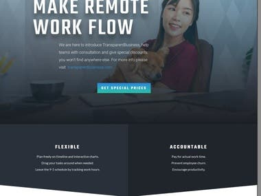 Sales Funnel for Remote Work Software transparent.consulting