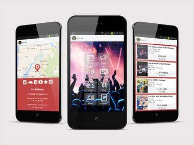 Android App (Band/Music)