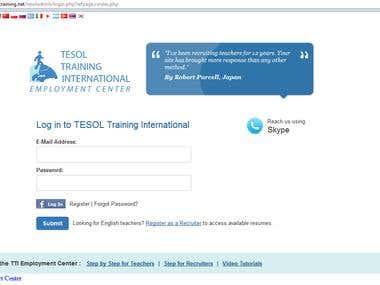 Tesol Training Job Board