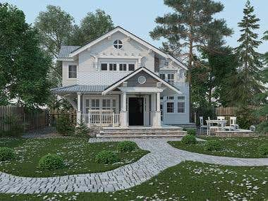 House in Canada
