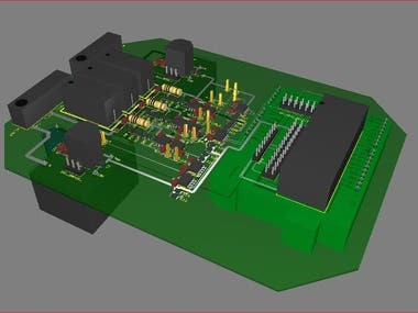 3 PH power line analyzer that controls\reports Vac, Iac,Pf