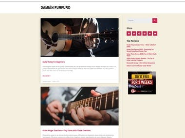Article Writing at allstringed.com