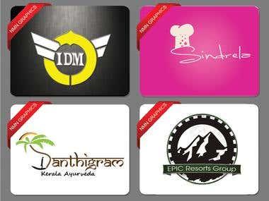 LOGO Designs, business cards, flyer, banner