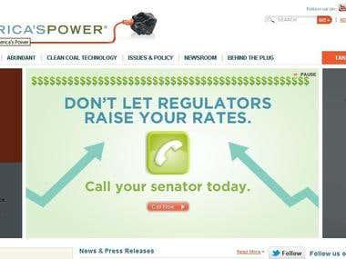 America's Power - Drupal - Website