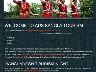 Joomla -  Tourism Website Design and Development