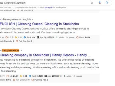 House Cleaning Stockholm