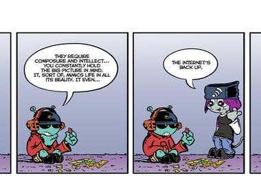 Comic Scripts