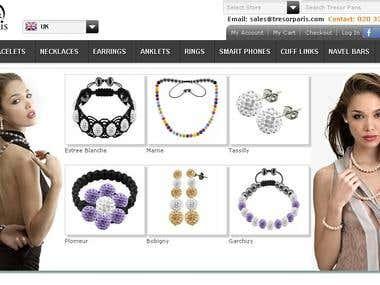 Tresor Paris - Magento Website