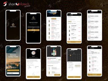 Wine Ecommerce Mobile Apps