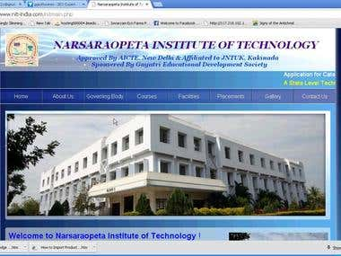 Narasaraopet Institute of Technology