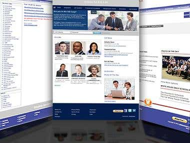 A Website build by us for the Recruitment Purpose