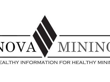 Logo Design for Nova Mining