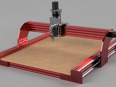 CNC Router design and Development in Fusion 360