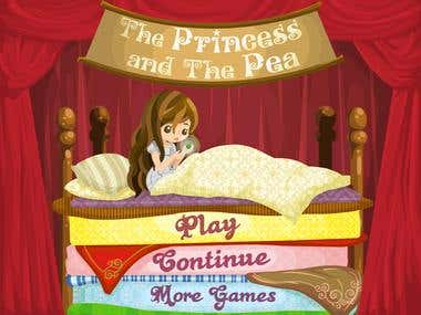 Flash Game : Princess and The Pea