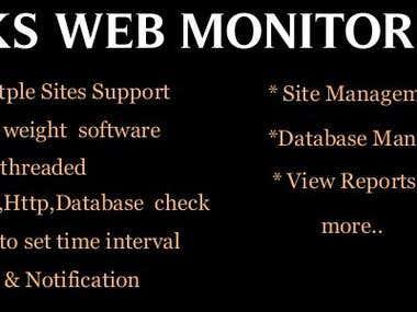 Web Monitoring Software