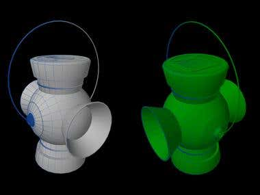 Green Lantern - Speed Modelling