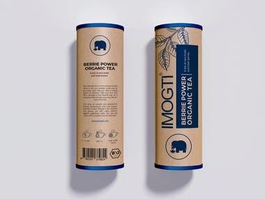 Organic Tea | Package Design