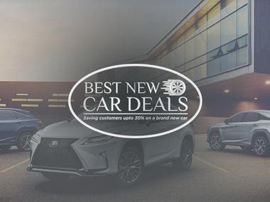 Design a modern logo for car rental business.