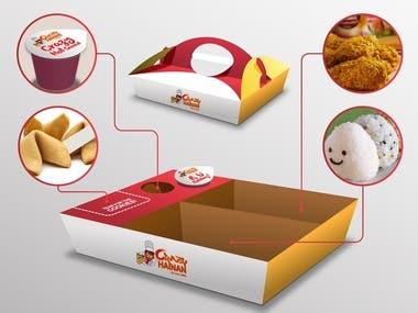Food Package design.