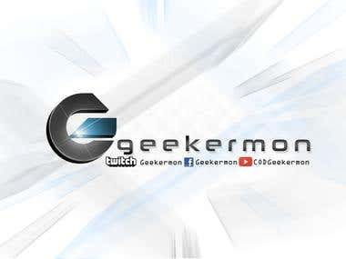 Geekermon Youtube & TwitchTV Channel Web graphics
