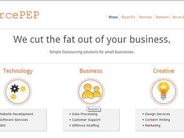 sourcepep homepage