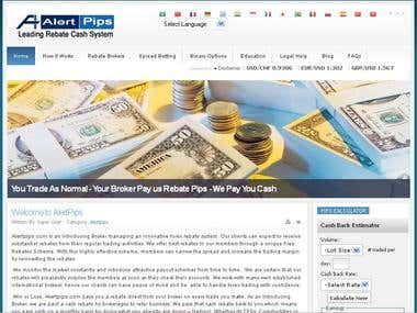 Alert Pips | Leading Rebate Cash System