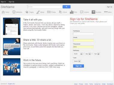 Google Plus (Similar)