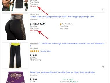 Ebay Product listing and Fulfilment