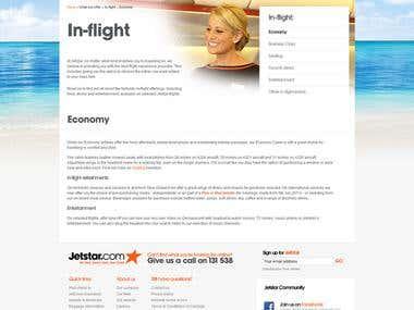 The Jetstar website